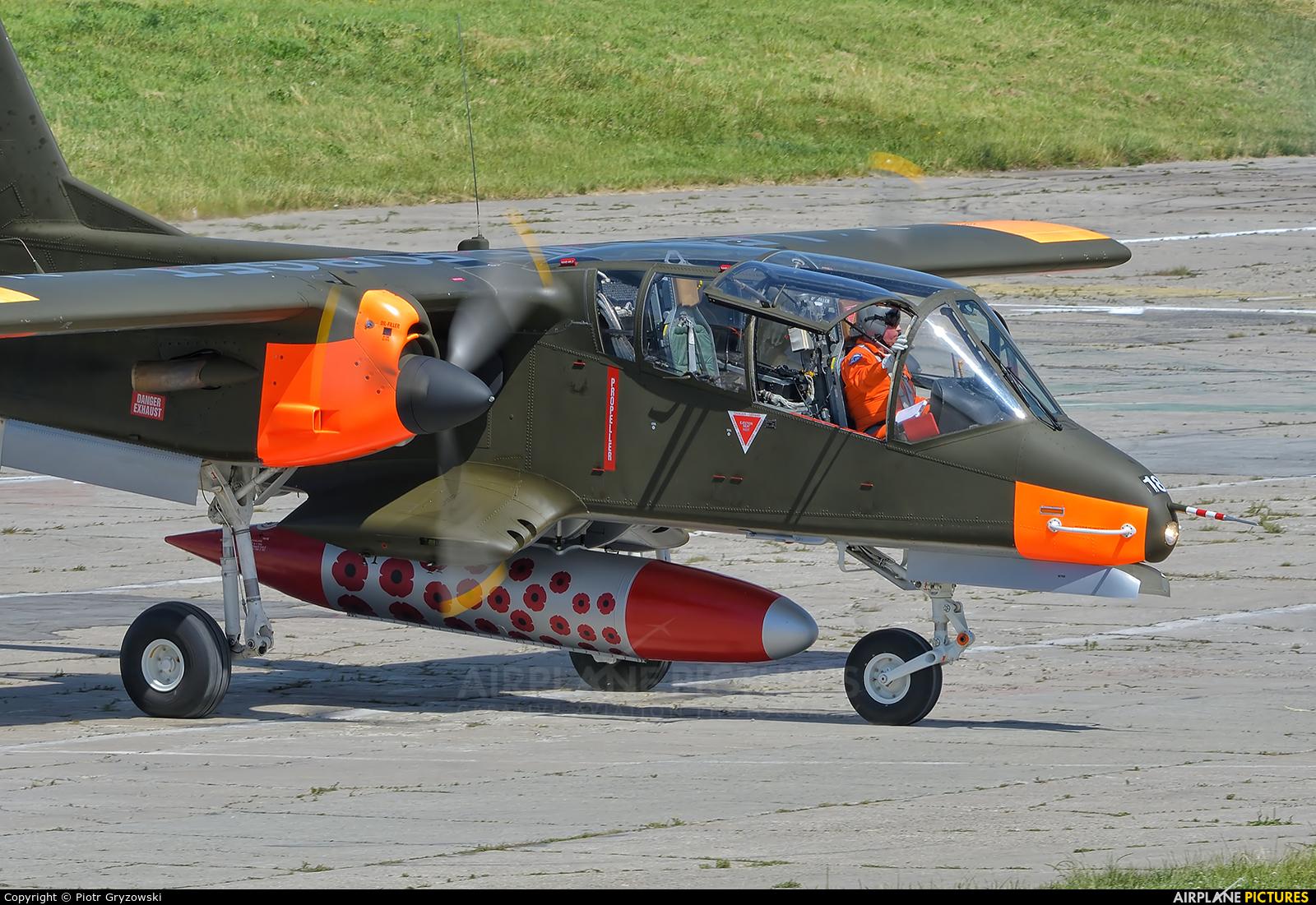 Bronco Demo Team G-ONAA aircraft at Kraków, Rakowice Czyżyny - Museum of Polish Aviation