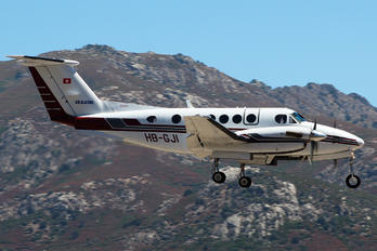 HB-GJI - Air Glaciers Beechcraft 200 King Air