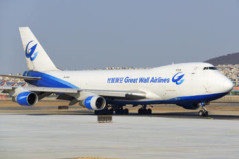 B-2433 - Great Wall Airlines Boeing 747-400F, ERF