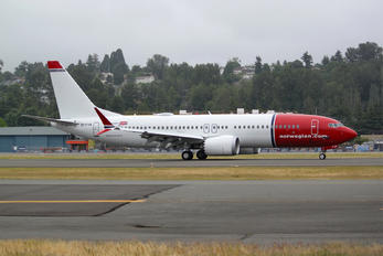 EI-FYA - Norwegian Air International Boeing 737-8 MAX