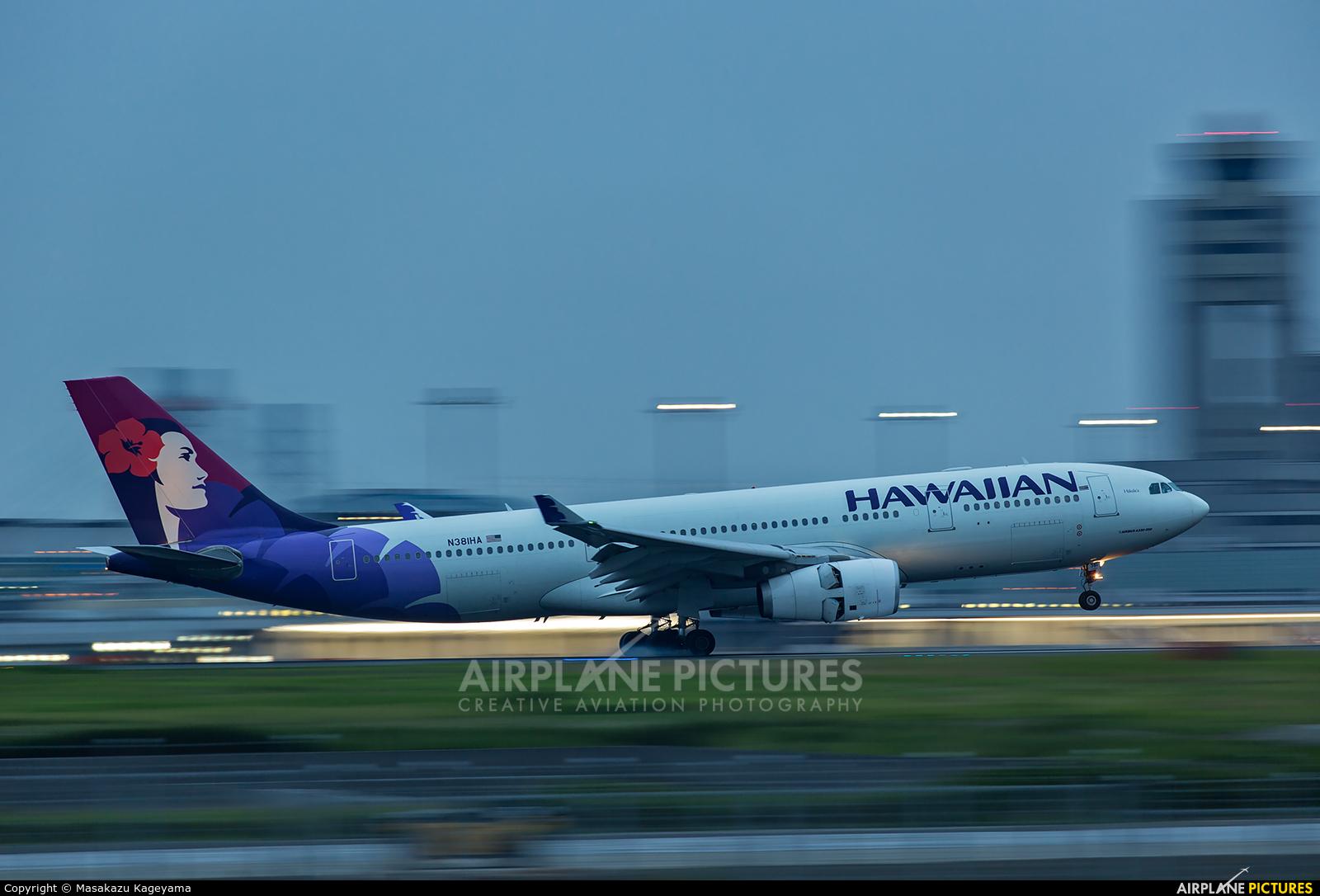 Hawaiian Airlines N381HA aircraft at Tokyo - Haneda Intl