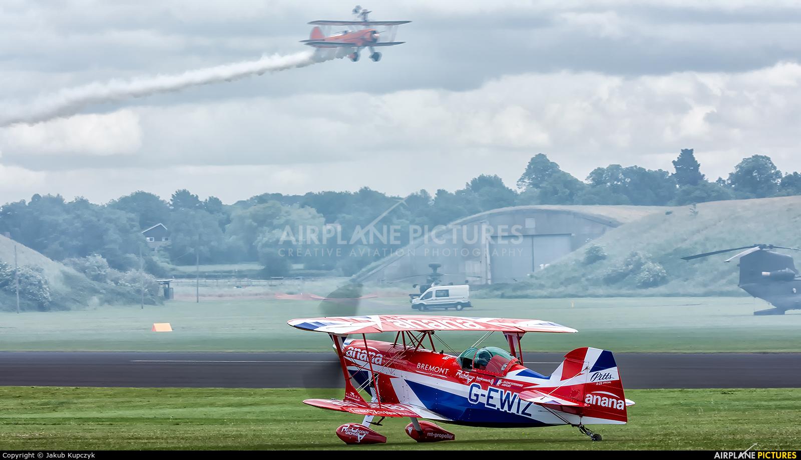 Rich Goodwin Airshows G-EWIZ aircraft at Cosford