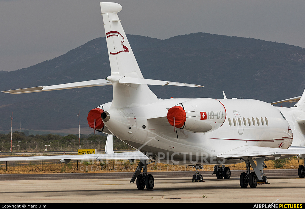 Cat Aviation HB-IAU aircraft at Olbia Costa Smeralda