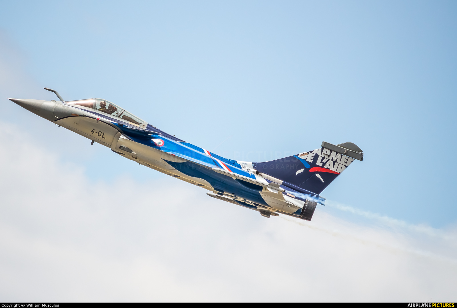 France - Air Force 4-GL aircraft at Paris - Le Bourget