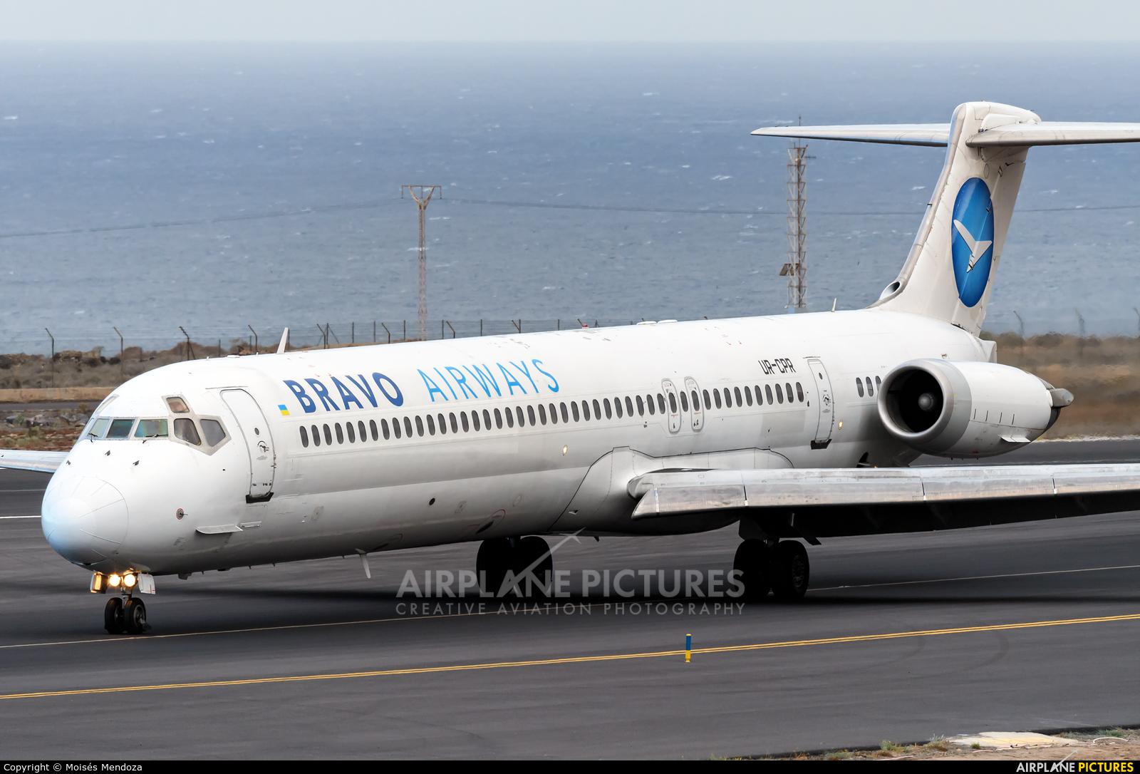 Bravo Airways UR-CPR aircraft at Tenerife Sur - Reina Sofia