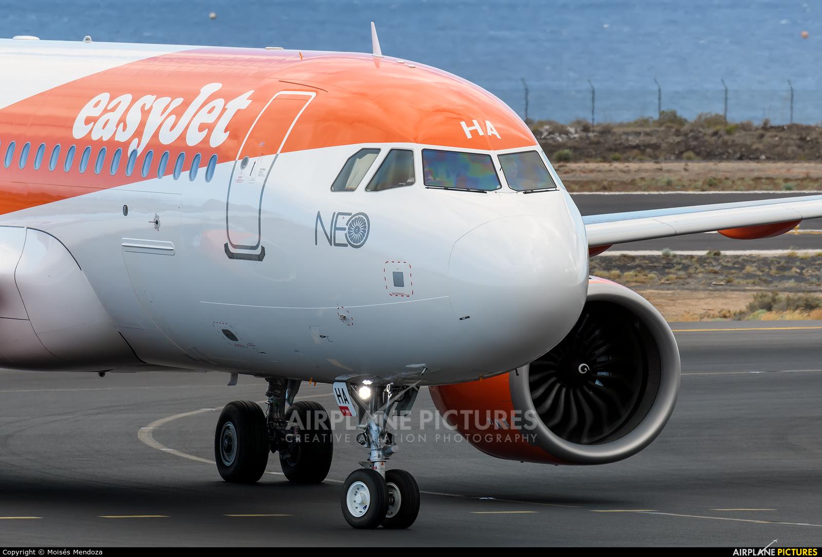 easyJet G-UZHA aircraft at Tenerife Sur - Reina Sofia