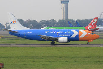 PK-MYZ - My Indo Airlines Boeing 737-300F