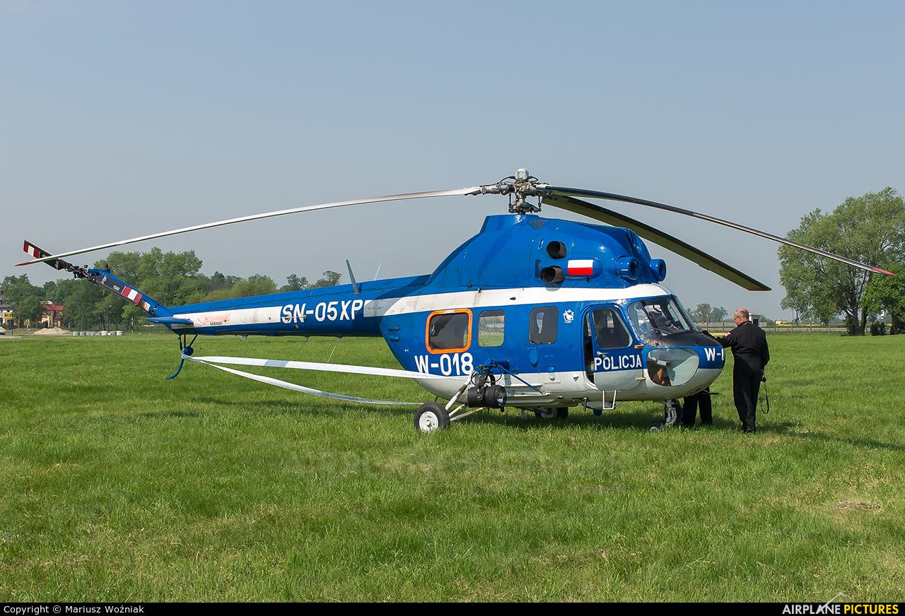 Poland - Police SN-05XP aircraft at Inowrocław - Latkowo