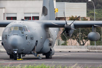 663 - Israel - Defence Force Lockheed C-130J Hercules