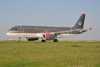 JY-AYD - Royal Jordanian Airbus A320