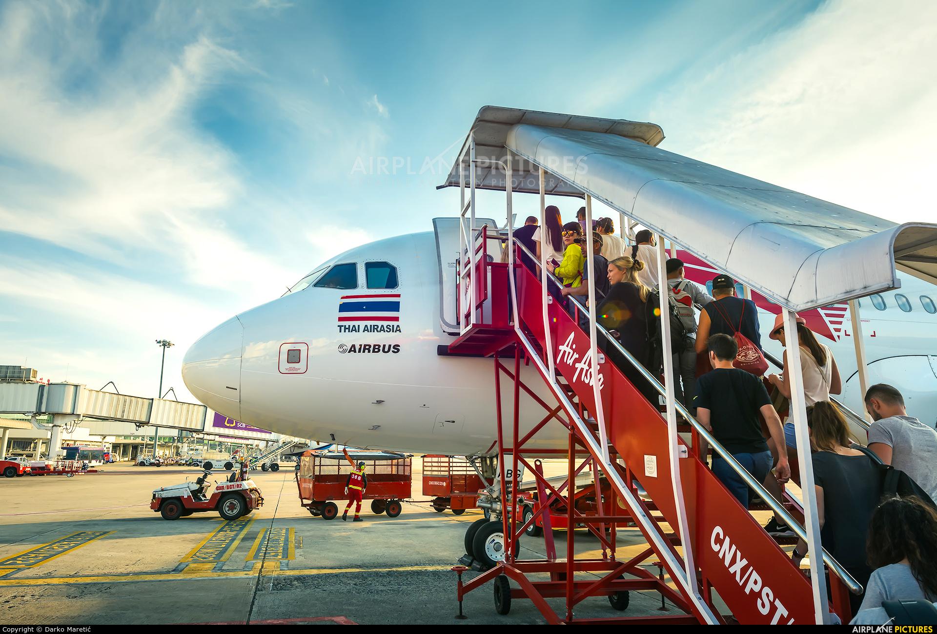 AirAsia (Thailand) HS-ABG aircraft at Chiang-Mai