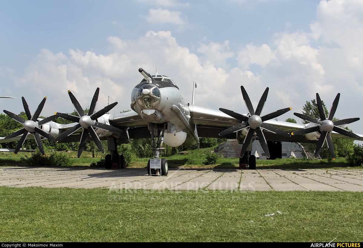 Ukraine - Navy 85 aircraft at Kiev - Zhulyany