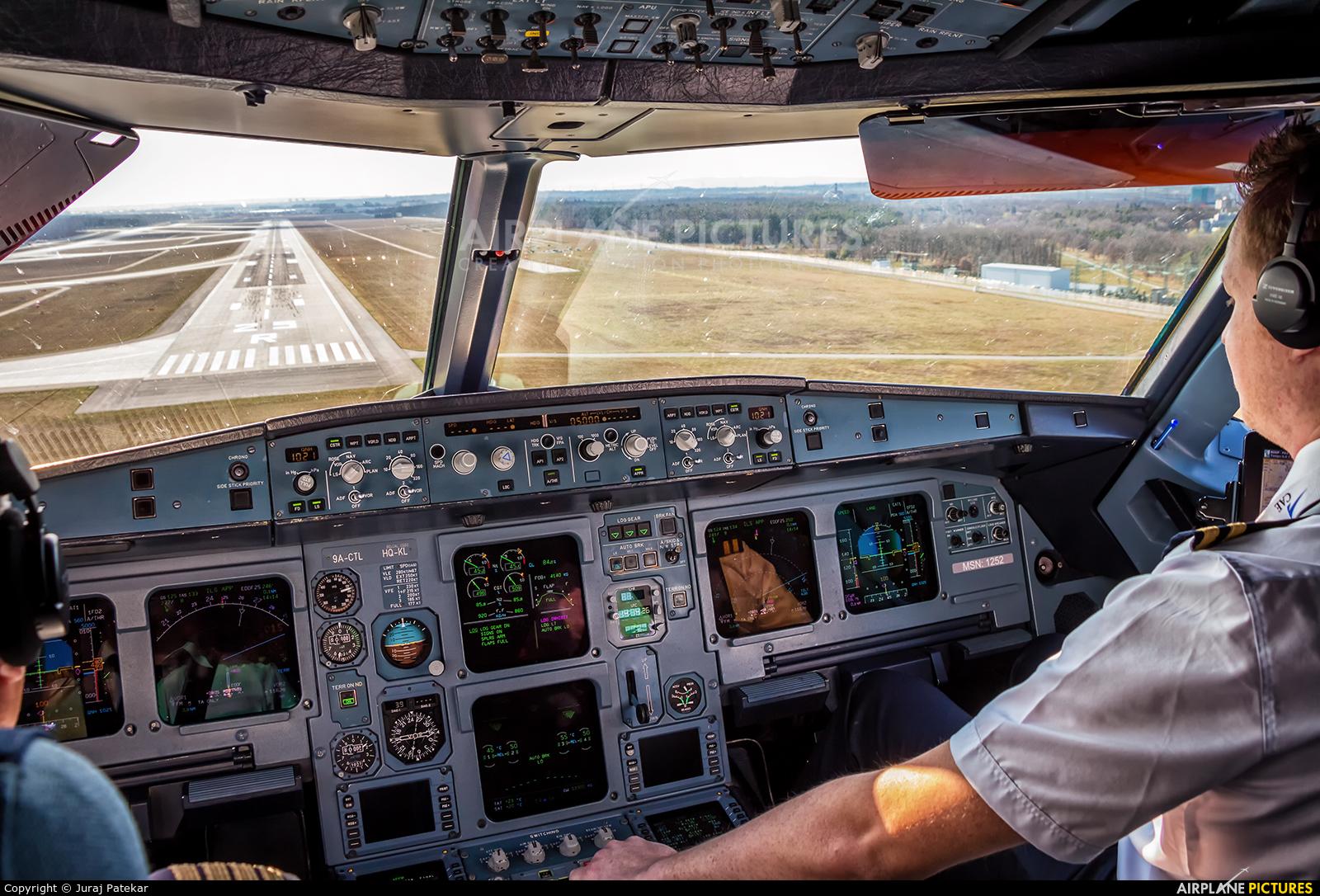 Croatia Airlines 9A-CTL aircraft at Frankfurt
