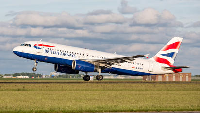 G-EUUS - British Airways Airbus A320