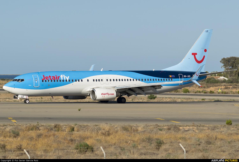 Jetairfly (TUI Airlines Belgium) OO-JLO aircraft at Murcia - San Javier