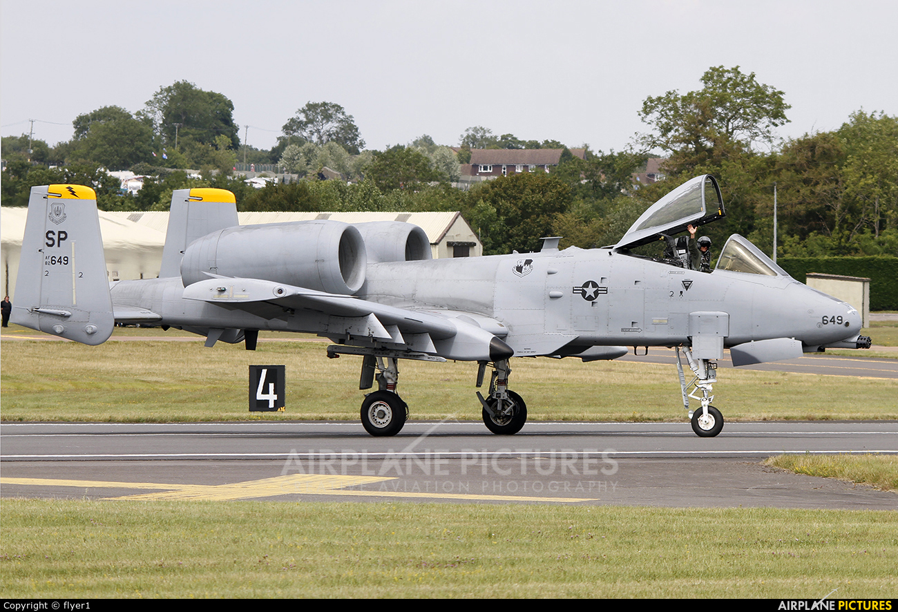 USA - Air Force 82-0648 aircraft at Fairford