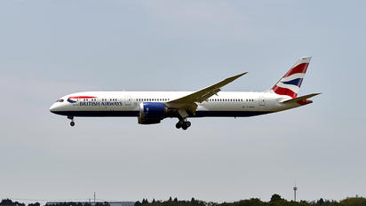 G-ZBKD - British Airways Boeing 787-9 Dreamliner