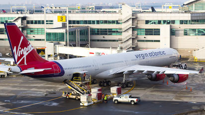 G-VWIN - Virgin Atlantic Airbus A340-600