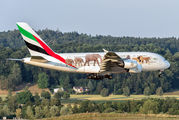 A6-EOM - Emirates Airlines Airbus A380 aircraft