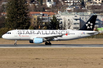 OE-LBX - Austrian Airlines/Arrows/Tyrolean Airbus A320
