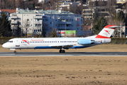 OE-LVO - Austrian Airlines/Arrows/Tyrolean Fokker 100 aircraft