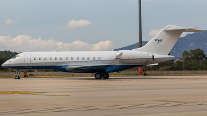N1415 - Private Bombardier BD-700 Global Express