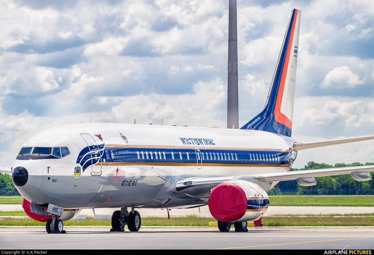 Thailand - Air Force HS-HMK aircraft at Munich
