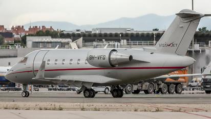 9H-VFG - Vistajet Bombardier CL-600-2B16 Challenger 604