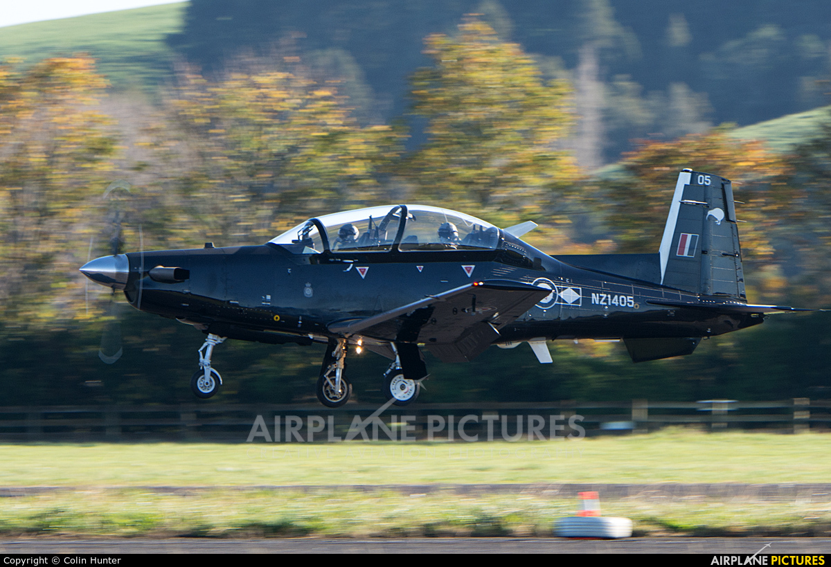 New Zealand - Air Force NZ1405 aircraft at Ardmore