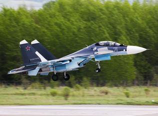71 BLUE - Russia - Navy Sukhoi Su-30SM