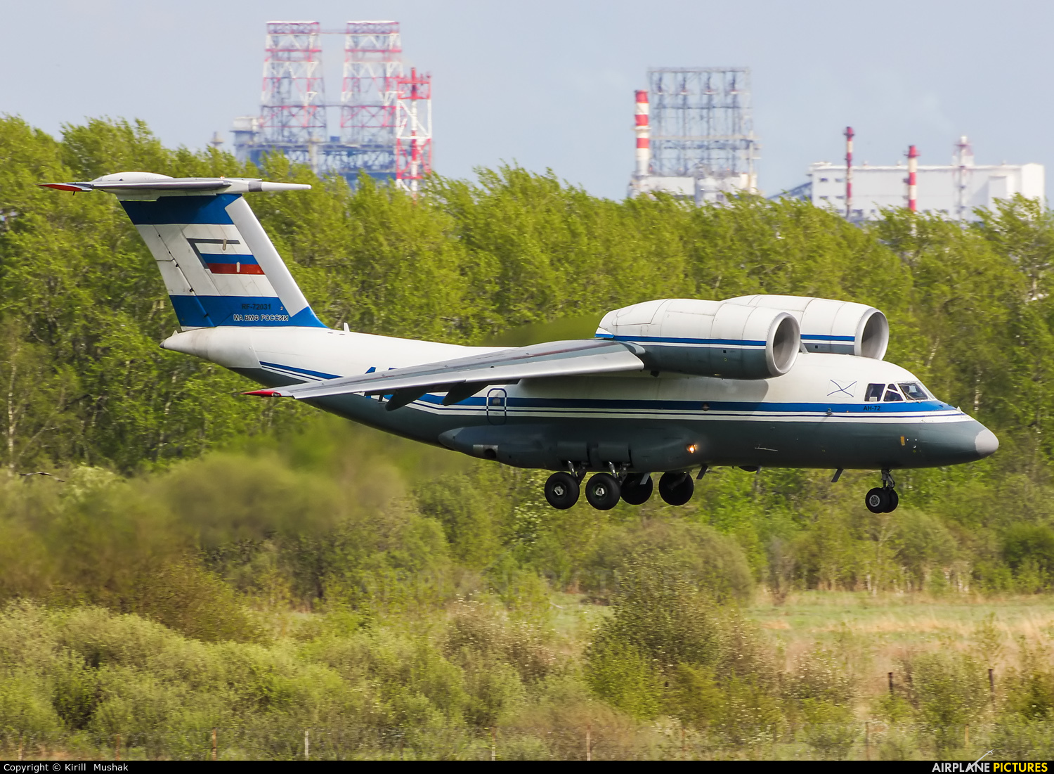 Russia - Navy RF-72031 aircraft at Undisclosed Location