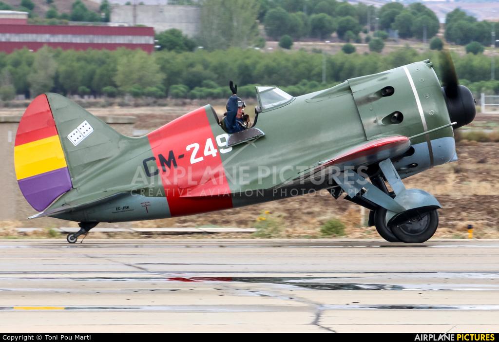 Fundación Infante de Orleans - FIO EC-JRK aircraft at Madrid - Torrejon