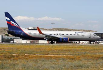 VP-BCF - Aeroflot Boeing 737-800