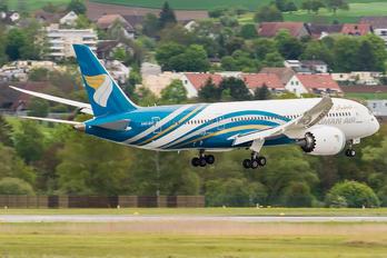 A4O-SY - Oman Air Boeing 787-8 Dreamliner