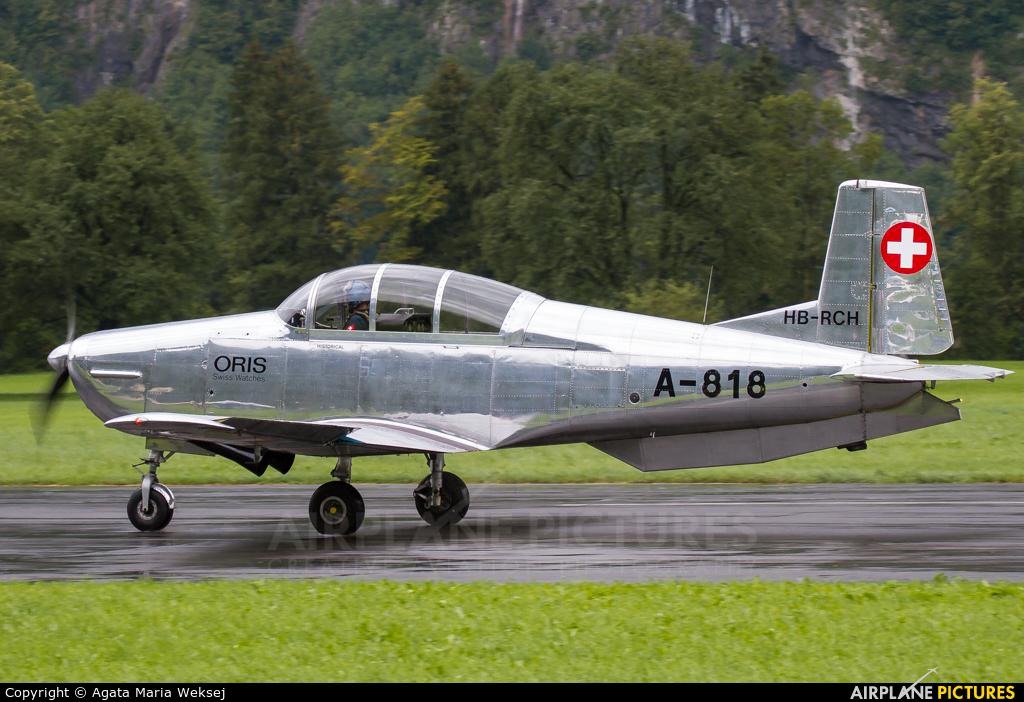PrivatAir HB-RCH aircraft at Mollis
