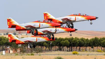 E.25-08 - Spain - Air Force : Patrulla Aguila Casa C-101EB Aviojet
