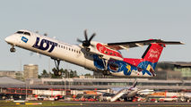 SP-EQF - LOT - Polish Airlines de Havilland Canada DHC-8-400Q / Bombardier Q400 aircraft