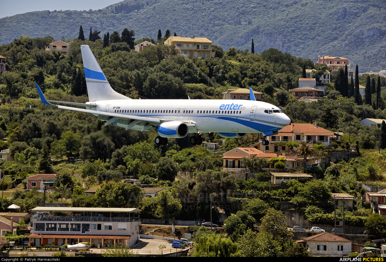 Enter Air SP-ENN aircraft at Corfu - Ioannis Kapodistrias