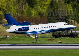 LX-GLD - Private Dassault Falcon 900 series