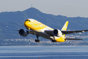 9V-OFA - Scoot Boeing 787-8 Dreamliner