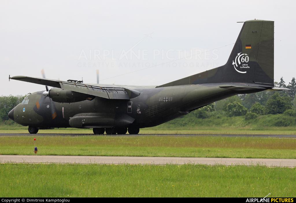 Germany - Air Force 50+67 aircraft at Neuburg - Zell