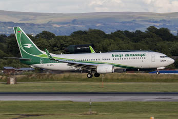 YI-ASS - Iraqi Airways Boeing 737-800