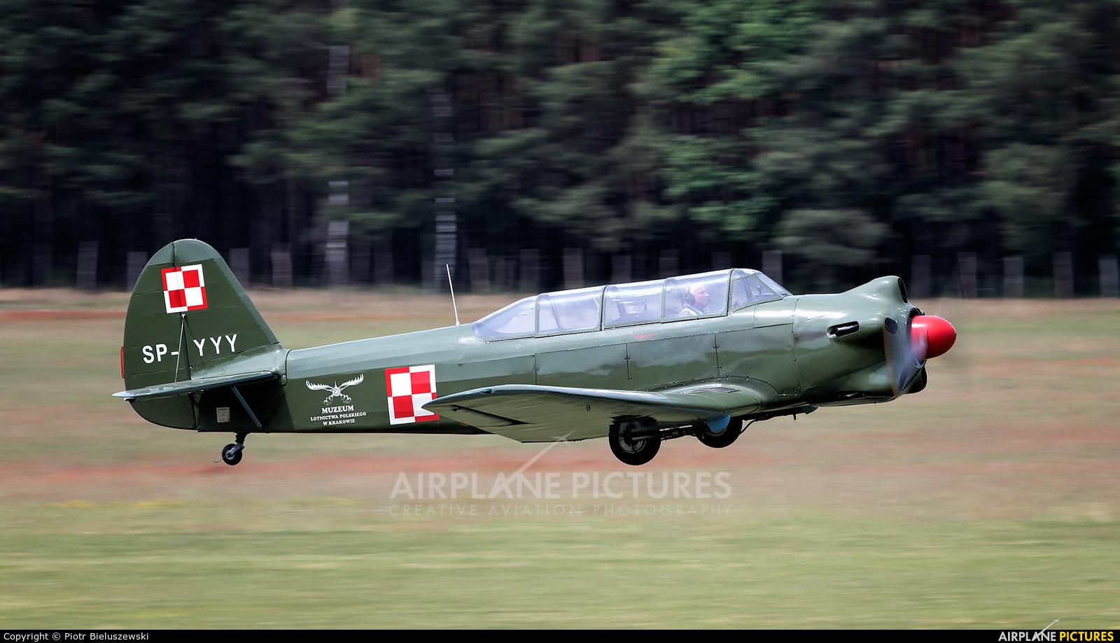 Polish Eagles Foundation SP-YYY aircraft at Zielona Góra - Przylep