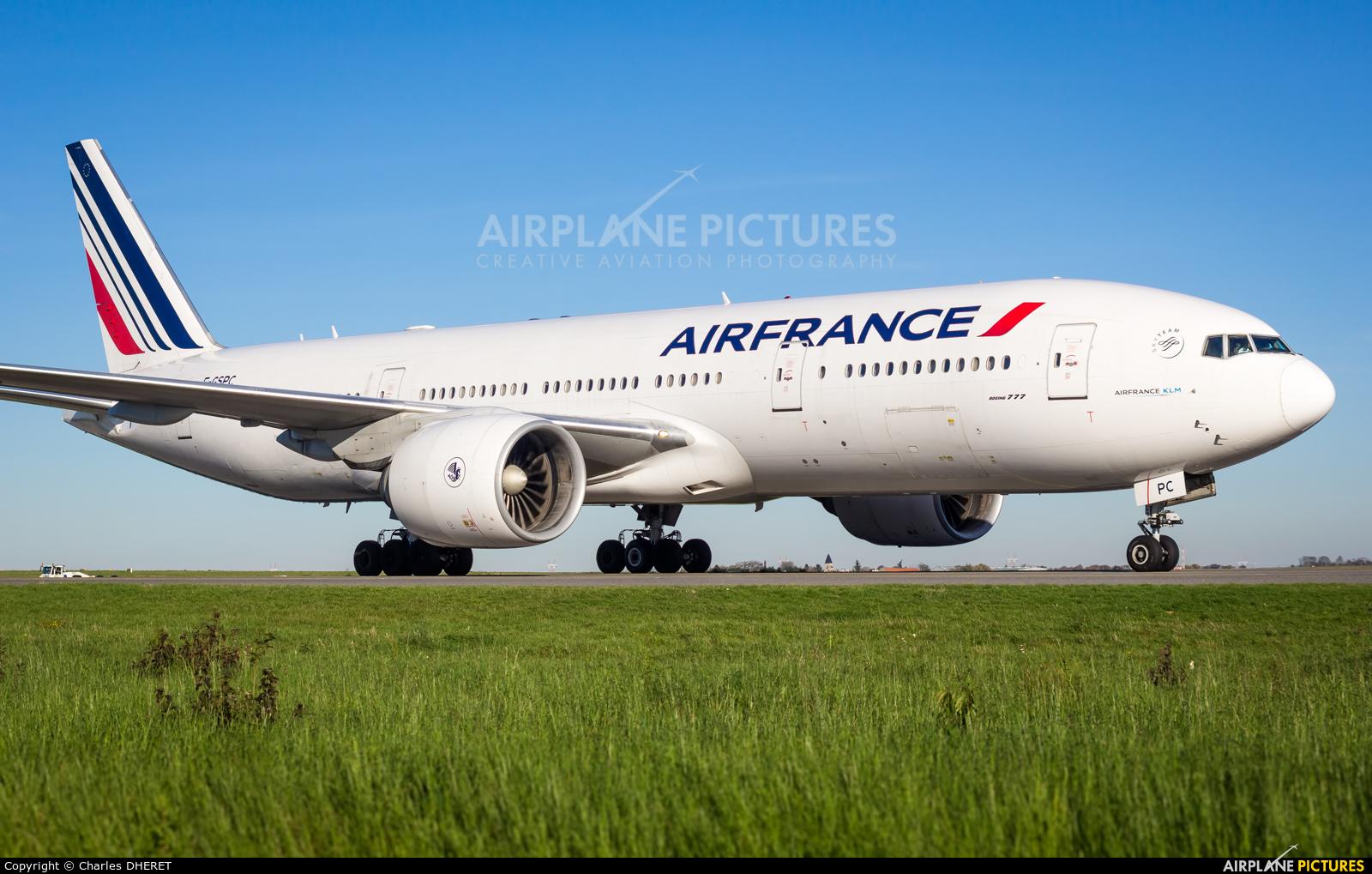 Air France F-GSPC aircraft at Paris - Charles de Gaulle