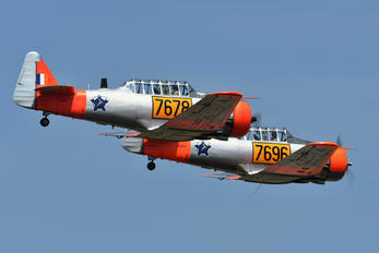 N7678Z - Private North American Harvard/Texan (AT-6, 16, SNJ series)