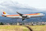 EC-GUP - Iberia Airbus A340-300 aircraft