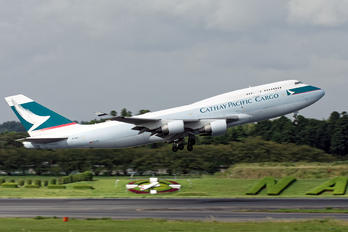B-HKX - Cathay Pacific Cargo Boeing 747-400F, ERF