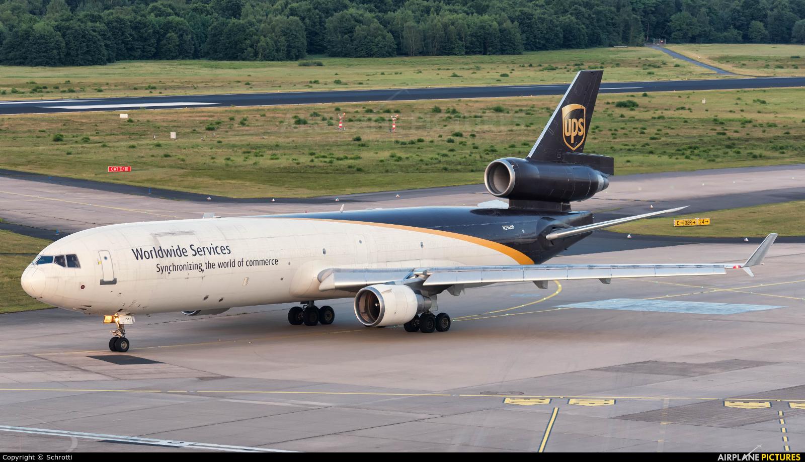 UPS - United Parcel Service N296UP aircraft at Cologne Bonn - Konrad Adenauer