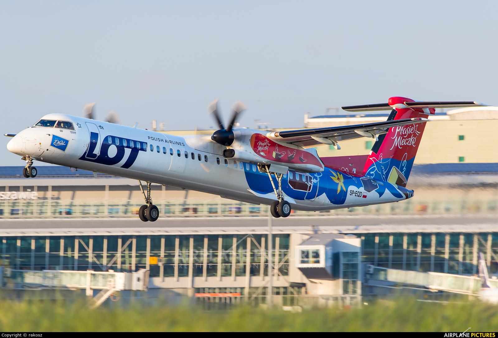LOT - Polish Airlines SP-EQD aircraft at Warsaw - Frederic Chopin