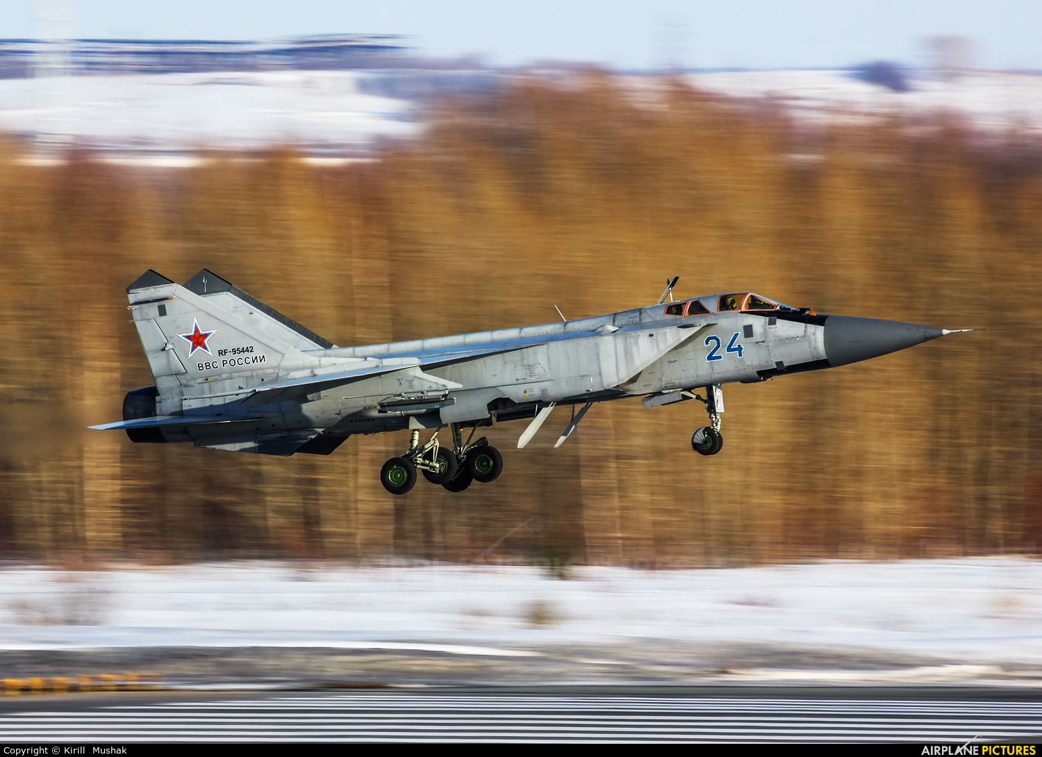 Russia - Air Force RF-95442 aircraft at Undisclosed Location